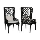 Set of 2  Bamboo Wing Back Chair Product Image