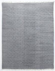 8'x10' Size Flatweave Faded Print Rug