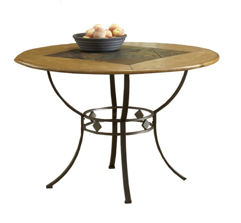 4264DTBRD In By Hillsdale Furniture In Tacoma WA Lakeview Round Dining Table