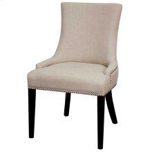 Charlotte Fabric Chair, Cotton Cream