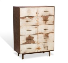 Sierra Tall Chest - Natural