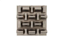 Arete Wall Tile, Plated Black Nickel