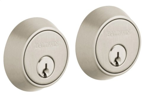 Satin Nickel with Lifetime Finish Contemporary Deadbolt