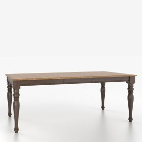 Rectangular table with legs