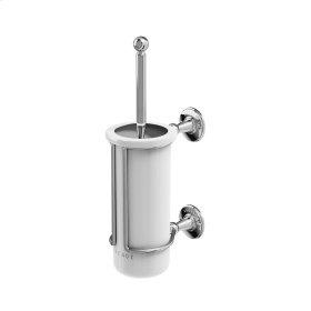 Arcade Wall Mount Toilet Brush Holder - Polished Chrome