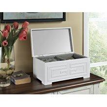 Enna White Jewelry Box