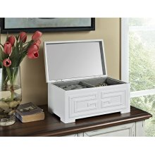Enna White Jewelry Box