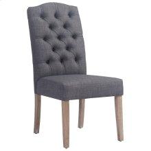 Lucian Side Chair in Grey, 2pk