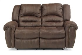 New Town Fabric Reclining Loveseat
