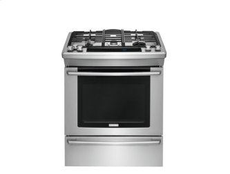 30'' Dual-Fuel Built-In Range with Wave-Touch(R) Controls