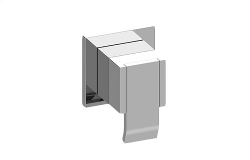 Qubic M-Series 3-Way Diverter Valve Trim with Handle
