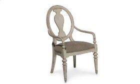 Belmar II Oval Splat Back Arm Chair