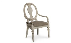 Belmar II Oval Splat Back Arm Chair