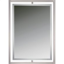 Quoizel Mirror in Brushed Nickel