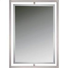 Marcos Mirror in Brushed Nickel