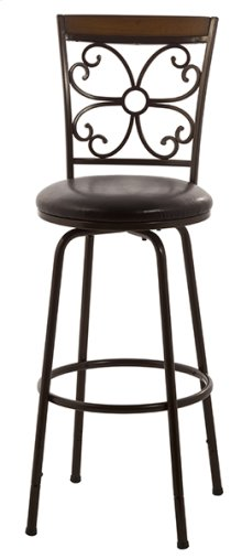 Garrison Swivel Adjustable Stool