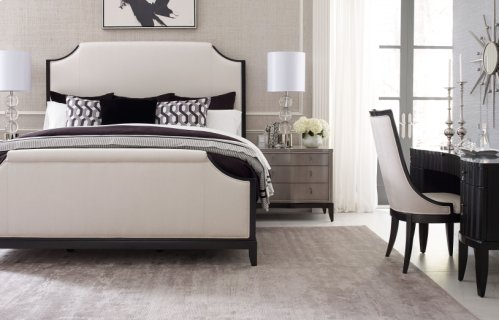 Symphony Upholstered Bed, King 6/6
