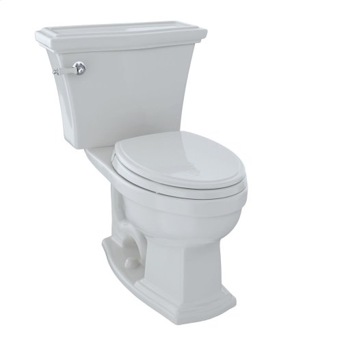 Eco Clayton® Two-Piece Toilet, 1.28 GPF, Elongated Bowl - Colonial White