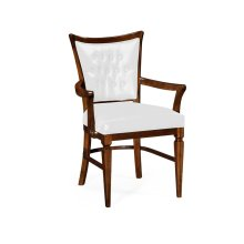 Calista Dining Armchair, Upholstered in COM