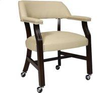 Castored Chair Rich Mocha w/ Light Gray Vinyl