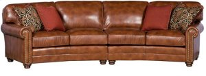 Winston Leather LAF Angle Loveseat, Winston Leather RAF Angle Loveseat
