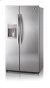Additional Side-By-Side Refrigerator with Ice and Water Dispenser (26.5 cu.ft.; Stainless Steel)
