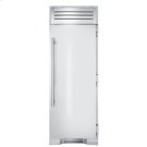 30 Inch Stainless Door Freezer Column - Left Hinge Stainless Solid Product Image