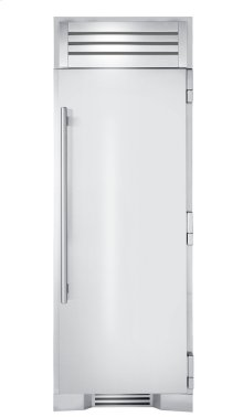 30 Inch Stainless Door Freezer Column - Right Hinge Stainless Solid