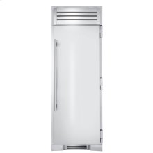 30 Inch Stainless Door Refrigerator Column - Right Hinge Stainless Solid