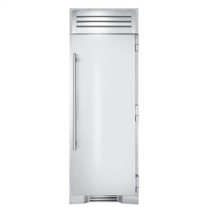 True Residential30 Inch Stainless Door Freezer Column - Left Hinge Stainless Solid