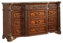 Royal Cherry Dresser - 72''L x 20''D x 42''H