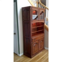 Bitterroot Open China Cabinet (Top Only)