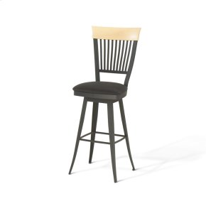 Annabelle Swivel Stool (solid Wood)