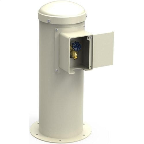 Elkay Yard Hydrant with Locking Hose Bib Non-Filtered, Non-Refrigerated Beige
