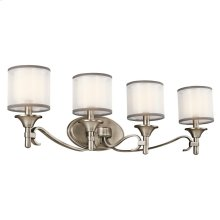 Lacey Collection Lacey 4 Light Bath Light - Antique Pewter