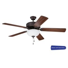"""52"""" Ceiling Fan with Light (Blades Sold Separately)"""