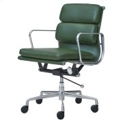 Chandel PU Low Back Office Chair, Vintage Asparagus Product Image