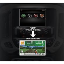 Next Generation Fully Integrated Navigation System for GMC Branded Vehiles
