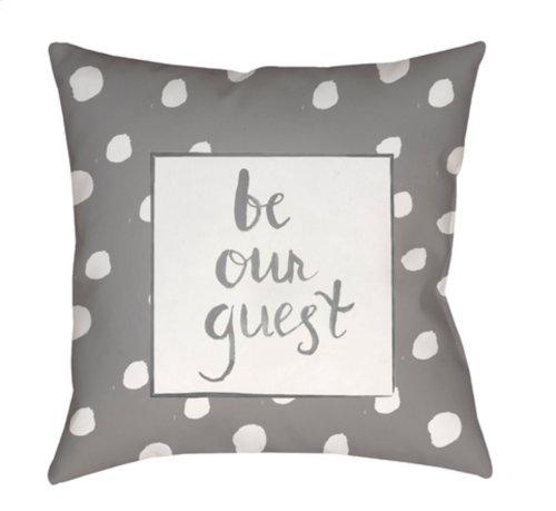 "Be Our Guest QTE-002 20"" x 20"""