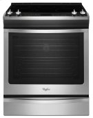 Whirlpool 6.2 cu. ft. Front-Control Electric Stove with TimeSavor Convection Product Image