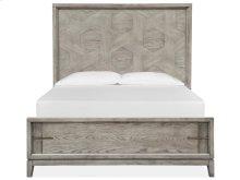 Complete Queen Pattern Bed w/Lower Footboard