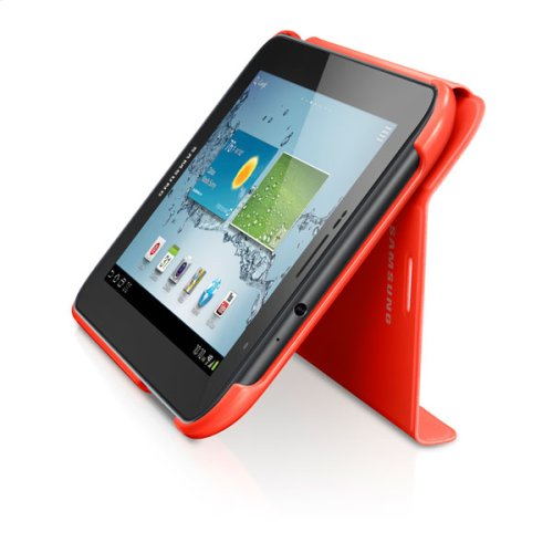 Galaxy Tab 2 7.0 Magnetic Book Cover, Orange