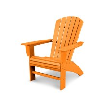 Tangerine Nautical Curveback Adirondack Chair
