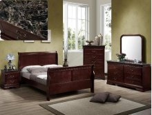 Louis Philip Twin Size Bed