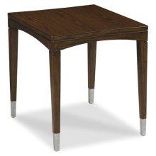 Crescent Rectangular End Table