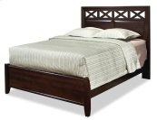 Queen Glen Panel Bed