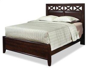 King Glen Panel Bed