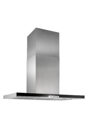 "Eclisse Island - 39-3/8"" x 27-5/8"" Stainless Steel Island Range Hood with a choice of iQ6, External or In-line blowers"