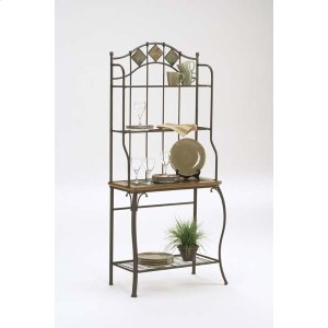 Hillsdale FurnitureLakeview Baker's Rack Slate Top
