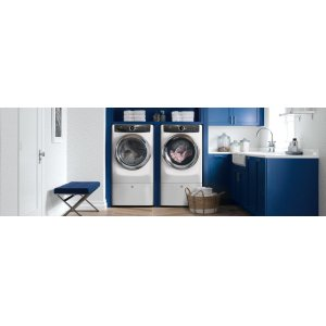 RED HOT BUY ! Front Load Perfect Steam™ Electric Dryer with Instant Refresh and 8 cycles - 8.0 Cu. Ft.